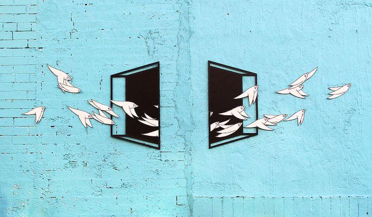 Aakash Nihalani + Know Hope, Uncornered, Brooklyn - http://foreveruntiltheend.com/2014/08/aakash-nihalani-know-hope-uncornered-brooklyn/