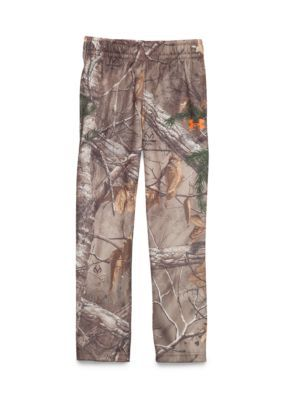 Under Armour Boys 4-7 Real Tree Camo Pant - Brown Camo - 5