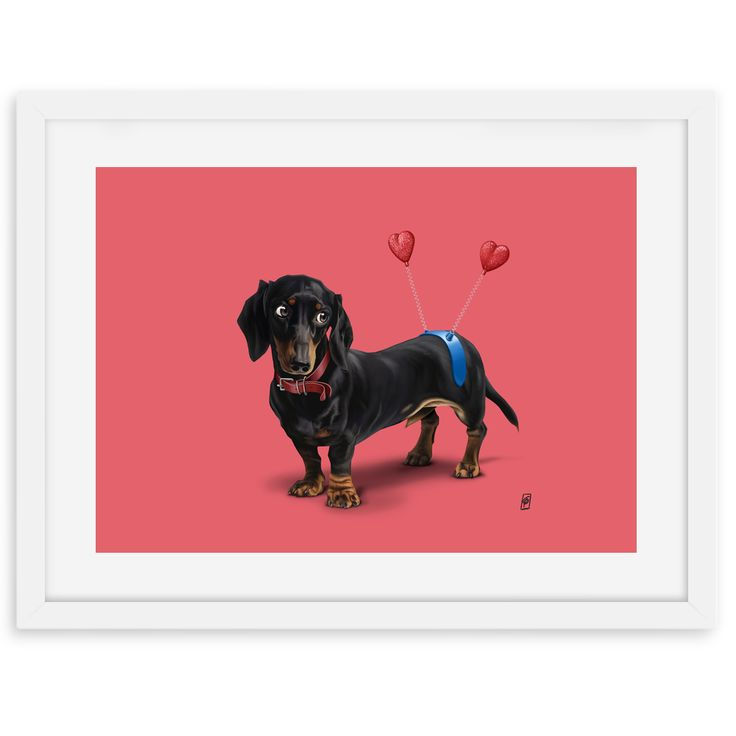 Butt (Colour) art | decor | wall art | inspiration | animals | home decor | idea | humor | gifts