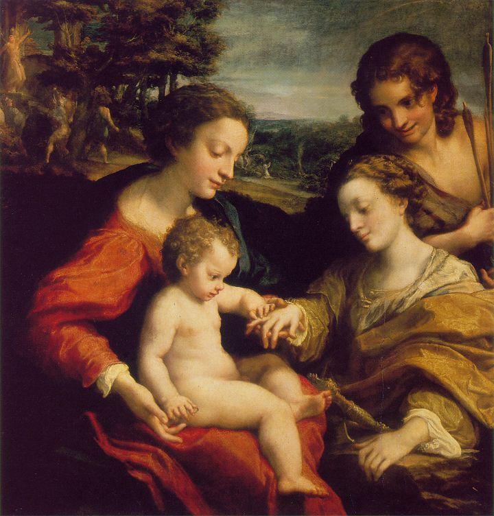 Correggio (Antônio Allegri) (1489 – 1534) – Pintor Italiano_10