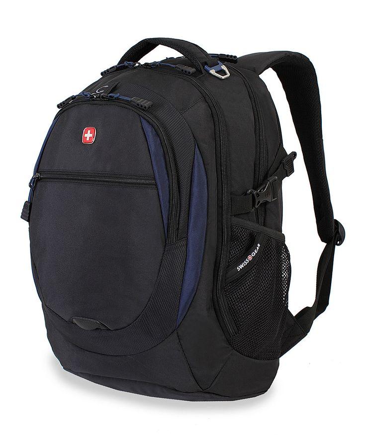 Black & Navy Swiss Gear 18.5'' Backpack