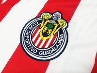 Chivas 2008 Season Home Retro Red White Liga MX Shirt Jersey [J799]