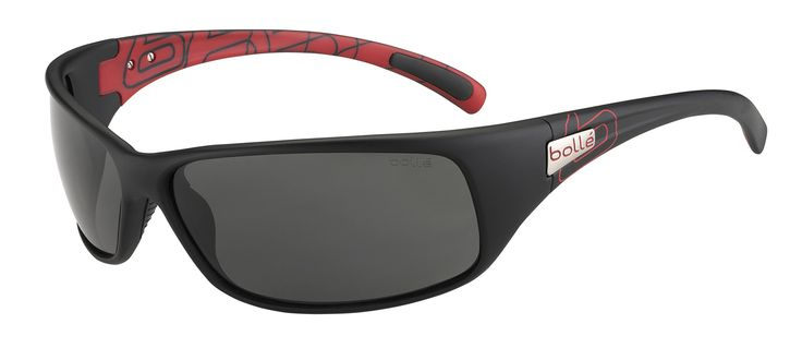 Bolle Recoil Sunglasses, Matte Red/Black TNS