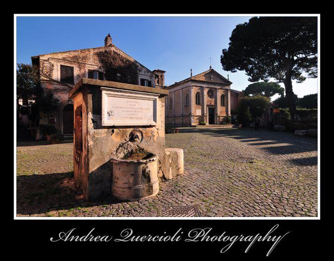 Ostia Antica - Sant Aurea  by andrea quercioli