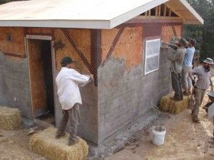 Andrew Morrison can teach you how to build a strawbale house.