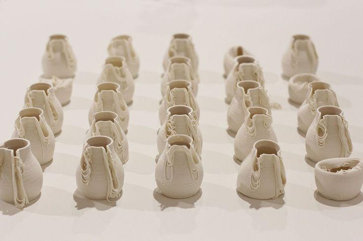 3D printed ceramics Alterfact Lucile Sciallano Ben Landau VCA Peoples Choice Award Winner
