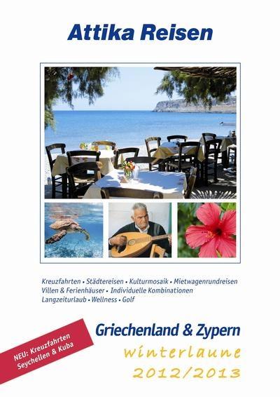 Attika Reisen präsentiert sein Programm für die Wintersaison 2012/2013