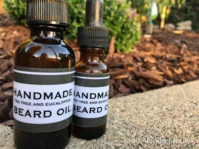 DIY Homemade Beard Oil