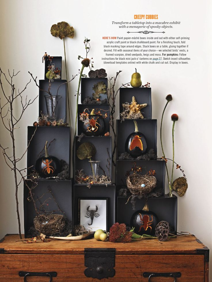 Halloween Box Decorations 305 Best Halloween & Fall Images On Pinterest
