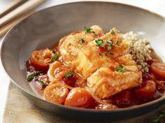 Recept van de dag: Kabeljauw in tomatensaus met quinoa   Goed Gevoel