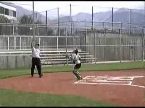 """The """"Pop-Up"""" Drill for Softball Catcher Conditioning"""