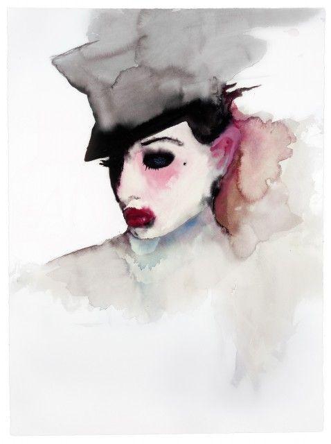"""{Dita Von Teese} Dita Von Teese """"Dita"""" Painted by Marilyn Manson #DitaVonTeese #fashion #gothic"""