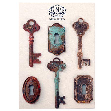 Key & Lock Magnets.