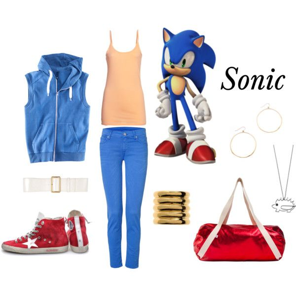 Sonic the Hedgehog - Polyvore this is the best one i've seen yet