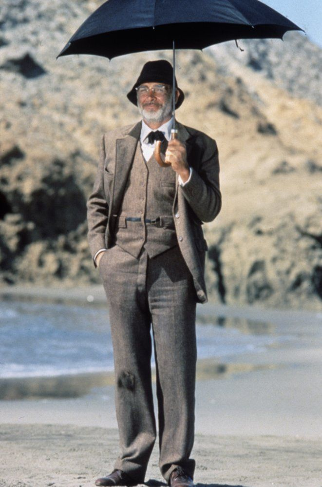 Sean Connery in Indiana Jones and the Last Crusade (1989)