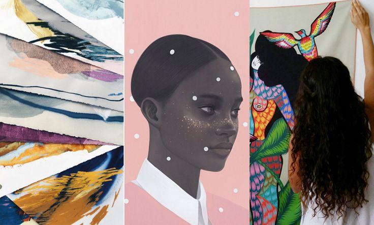 6 kvinnliga konstnärer som regerar på Instagram