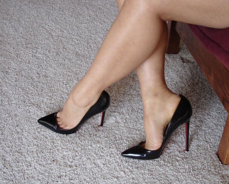 inside a swingers club high heel nylons