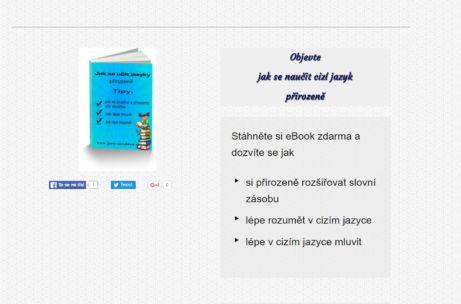 Jana Šandová a její ebooyk ZDARMA: Jak se učit jazyky přirozeně a Mentální mapy při výuce jazyků