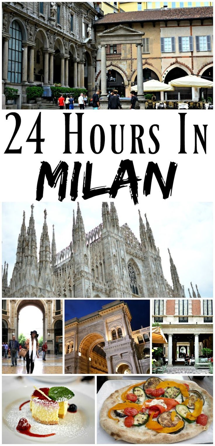 Pin For Later: How to have a luxury weekend in Milan in just 24 hours! Perfect for taking a quick weekend break to Europe without using any holiday days, or if you're on a tight itinerary and want to experience the best that Milan has to offer!