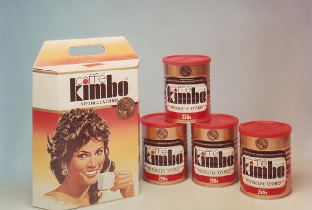 1973 packaging Kimbo Coffee  #kmbo #coffee #bellebbuono #packaging #vintage