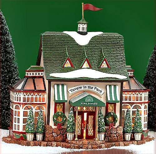 Tavern In The Park Restaurant NEW Department Dept. 56 Christmas In The City CIC