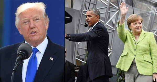 Obama Following Trump Around Europe? This Is So Weird! Barack Obama is making a fool out of himself as he follows President Donald Trump around Europe. His antics reached the height of absurdity as…