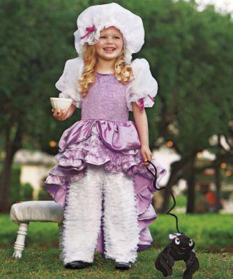 little miss muffet girls costume