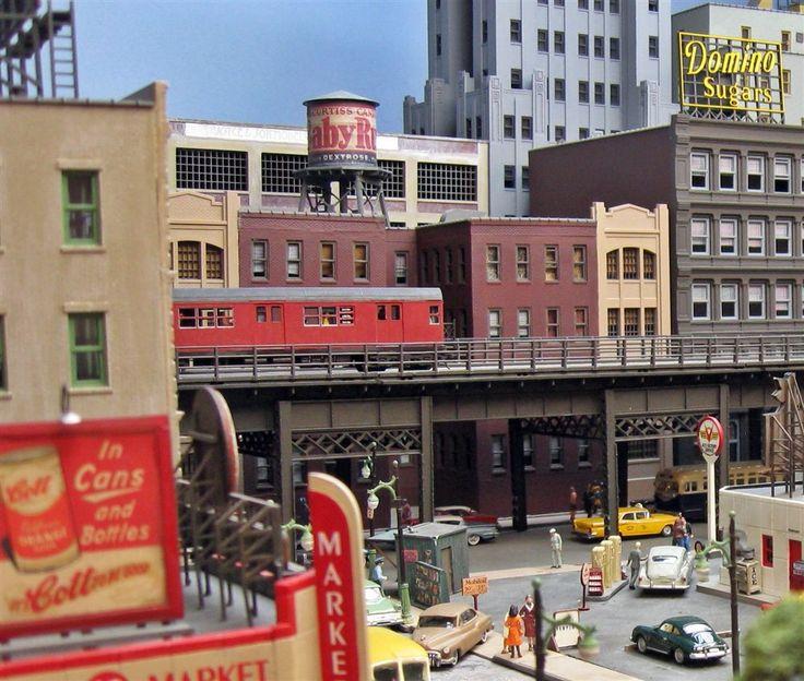 urban layout – Model Railroader Magazine – Model Railroading, Model Trains … #… – Eisenbahn, Modelle und Echte