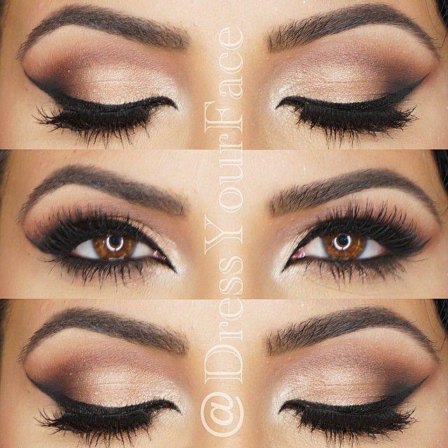 Best Eye Makeup Looks for Brown Eyes17