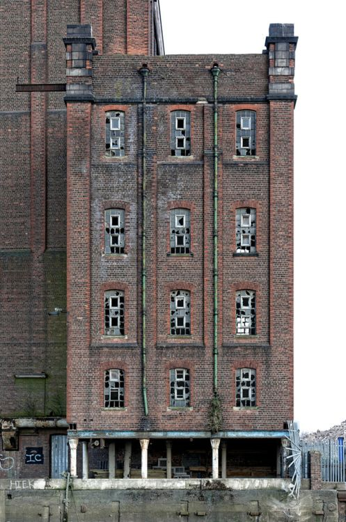 abandoned factory in the UK