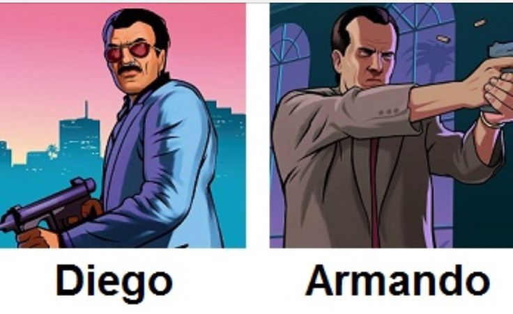 The Mendez brothers in GTA Vice City Stories