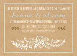 The Invitation Maker Offers High Quality, Custom Wedding Invitations With A  Unique 1 On