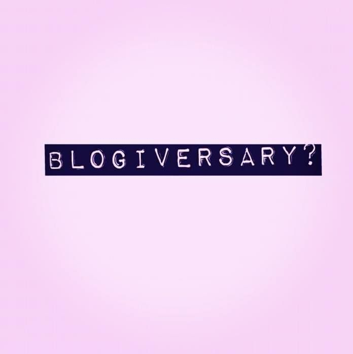 The One About The Blogiversary