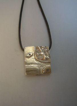 talismanes amuletos y símbolos | colgante sello kin maya serpiente chikchan
