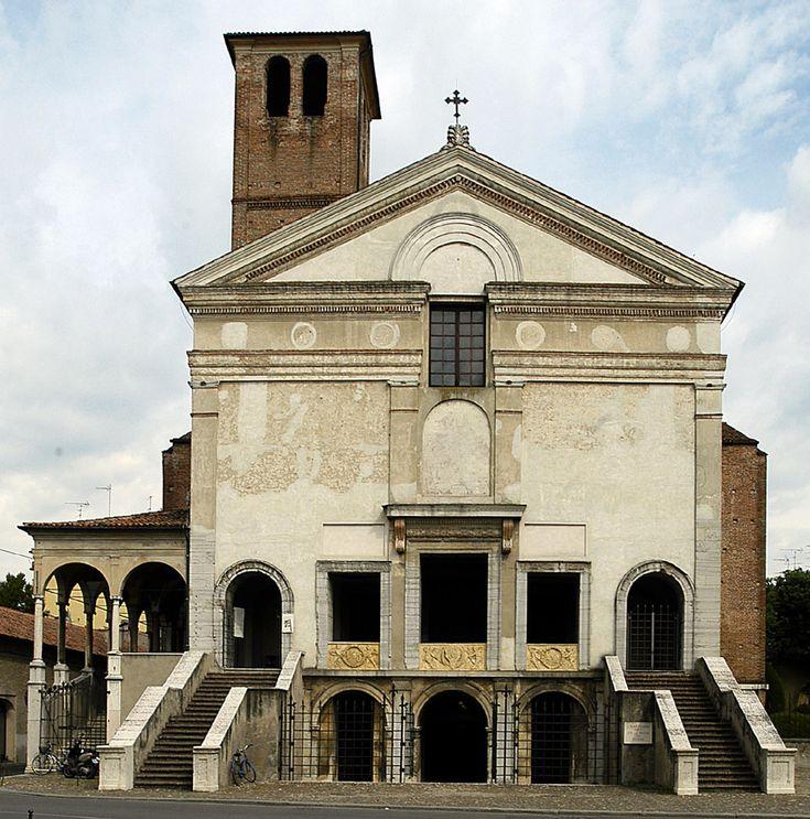 San Sebastiano w Mantui, Alberti, ok. 1460