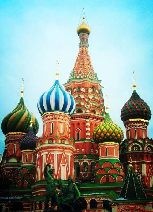 Russia! Still on my travel bucket list.