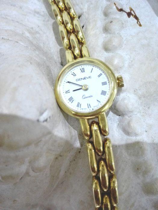 Genève - 18 kt gouden horloge - Mechanisch Zwitsers uurwerk - Gemaakt in Italië.  EUR 300.00  Meer informatie