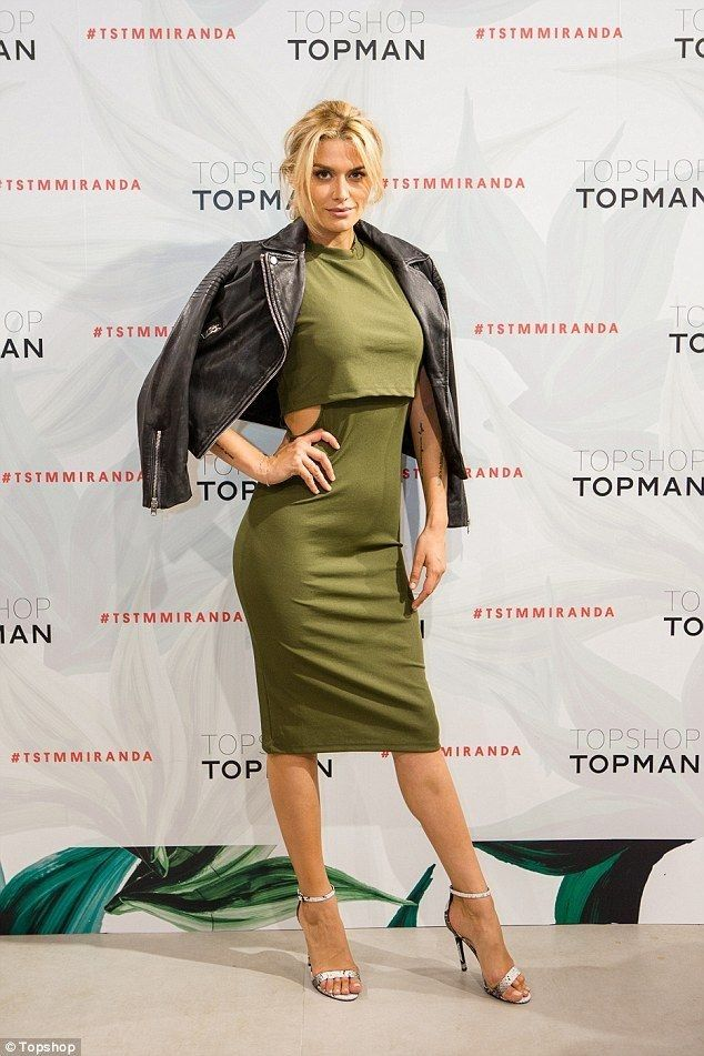 Cheyenne Tozzi cuts the ribbon for new Topshop store - Celebrity Fashion Trends