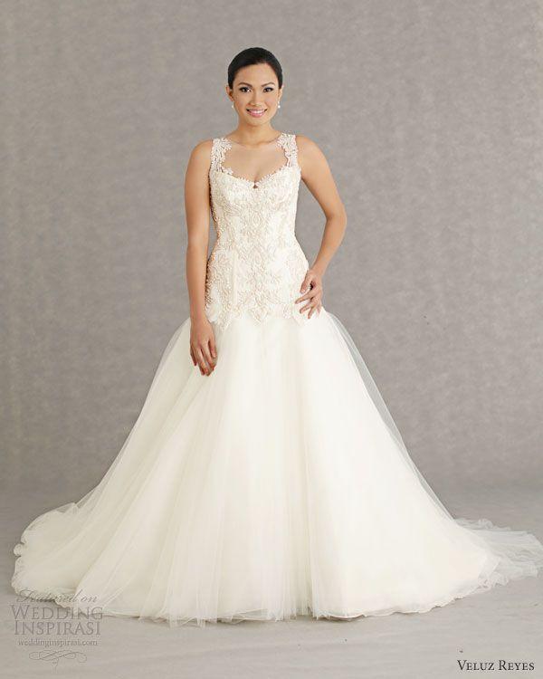 Veluz Reyes Wedding Dresses 2013 Bridal Rtw Sabine Gown Straps