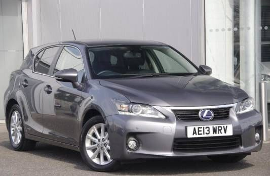 Used 2013 (13 reg) Grey Lexus CT 200h 1.8 Advance 5dr CVT Auto for sale on RAC Cars