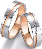 Vakre gifteringer i hvitt og rosegull