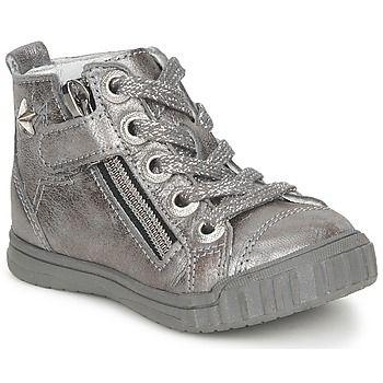 Stoere Ramdam avignon hoge sneakers (Zilver) hoge sneakers voor Dames van het merk ramdam . Uitgevoerd in zilver.