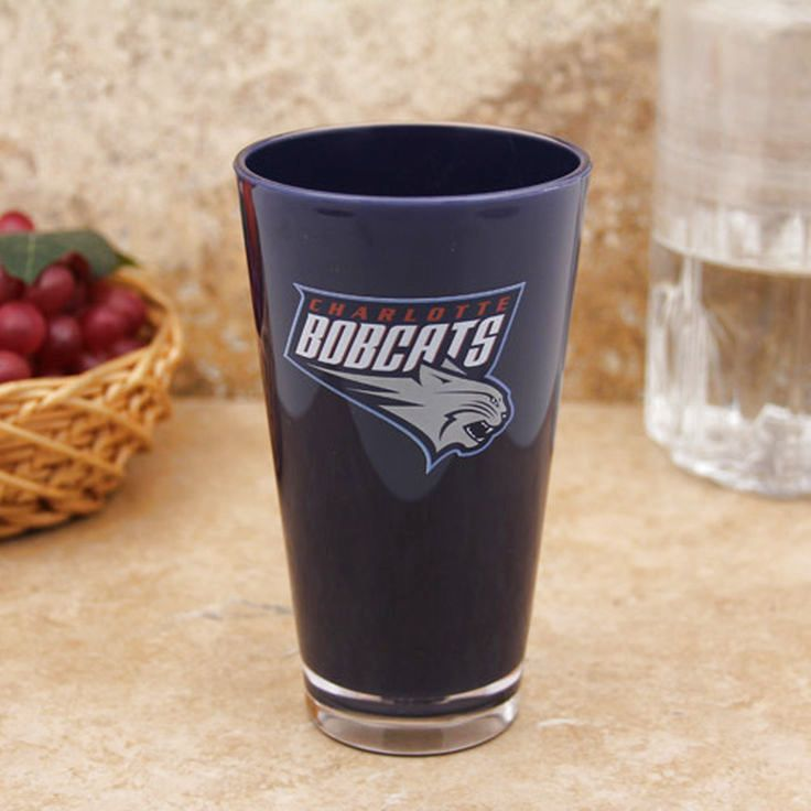 Charlotte Bobcats 16oz. Team Color Plastic Pint Cup - $2.84