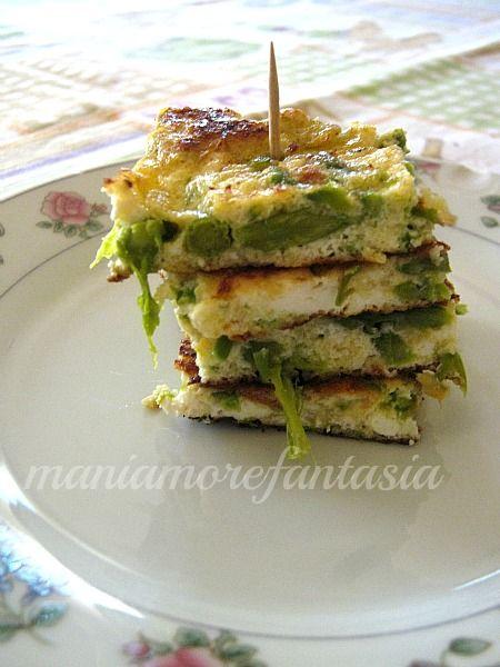 Frittata di asparagi e ricotta