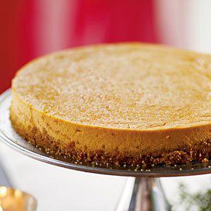 Cheesecake Factory Pumpkin Cheesecake.      Pumpkin cheescake is a fantastic alternative to the traditional pumpkin pie.  A group favorite!