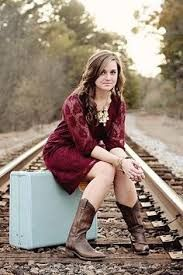 Image result for senior photos with suitcases and railroad tracks