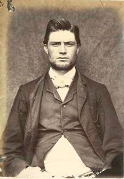 Daniel McCarthy, 1866. From the Mountjoy Prison Portraits of Irish Independence