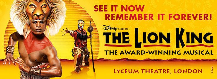 #london theatre & hotel package - the lion king -  #tickets - prices from #£125,  View more on the LINK: http://www.zeppy.io/product/gb/2/252507767643/