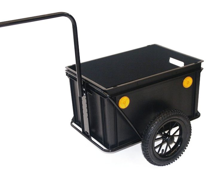 Remolque bicicleta Roland Mini-Boy Eje alto, Carretilla de mano, Transportin | eBay