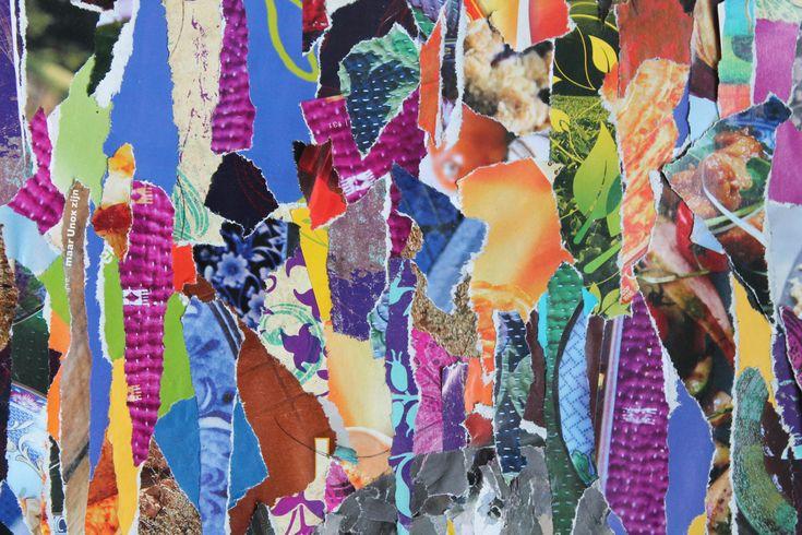 Collage Beeldende therapie bij Creatieveling in Amsterdam